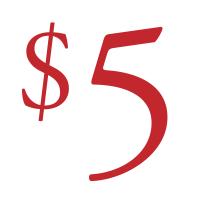 $ 5 پورے خاندان کو جوسس میں کولگری AB میں سوموار کے روز ملتا ہے