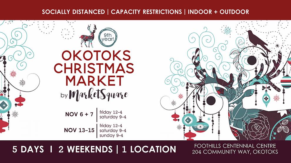 Okotoks聖誕市場(家庭娛樂卡爾加里)