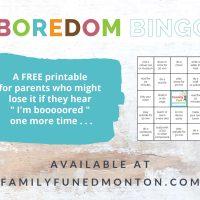 Bingo do tédio