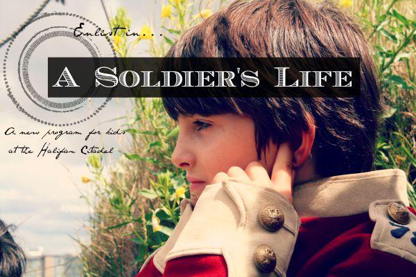 «Солдатская жизнь», программа «Парки Канады» в Цитадели Галифакса. Фото Дебби Малайдак