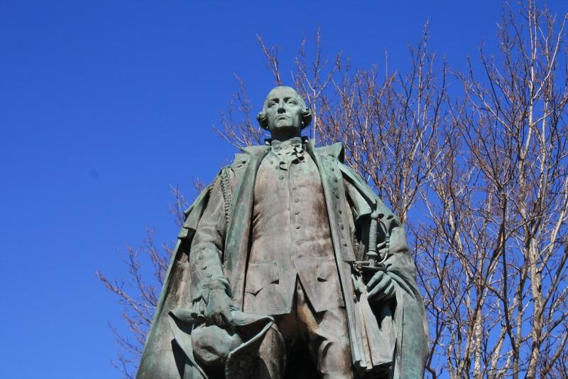 Edward Cornwallis Park Statue Halifax