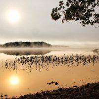 Mañana en el lago Kejimkujik Foto Darcy Rhyno