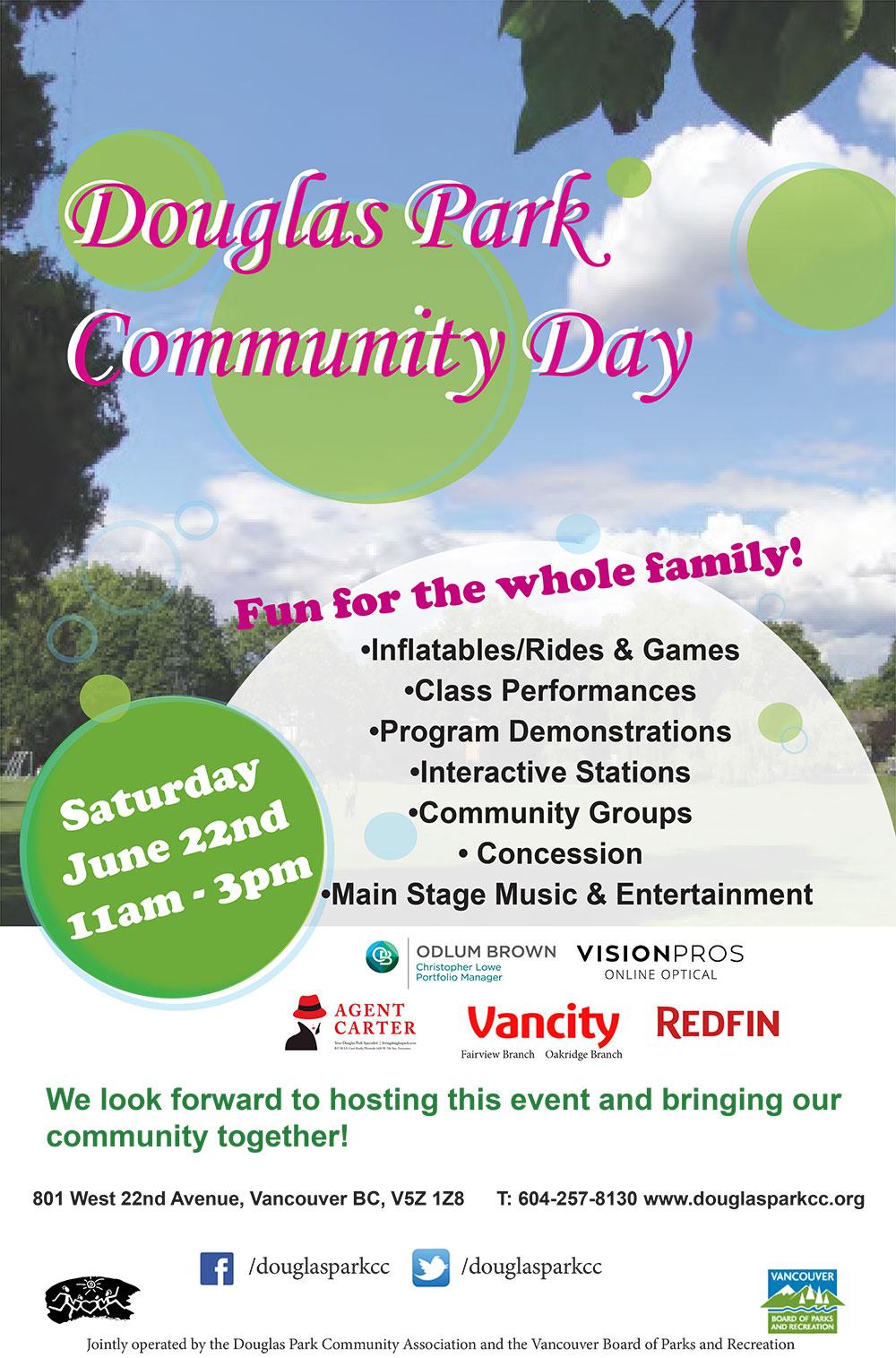 День сообщества Дугласа Парка