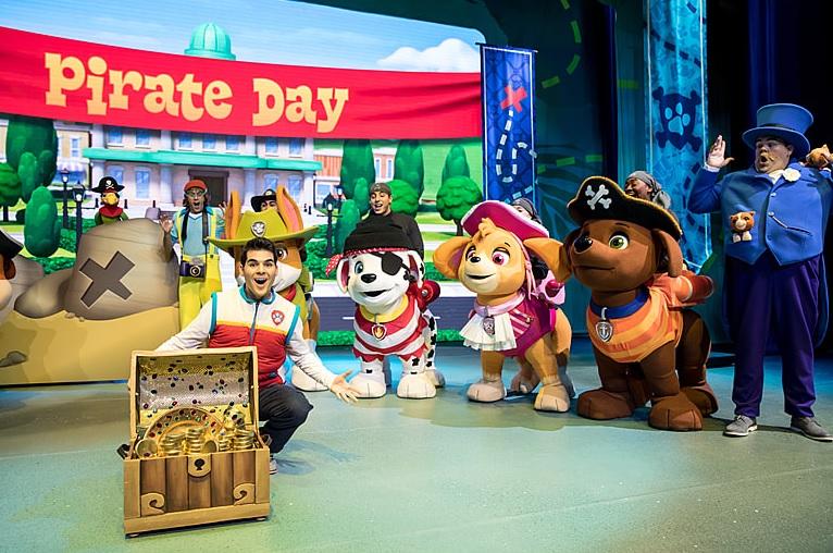 "Paw Patrol Live! ""Das große Piratenabenteuer"""