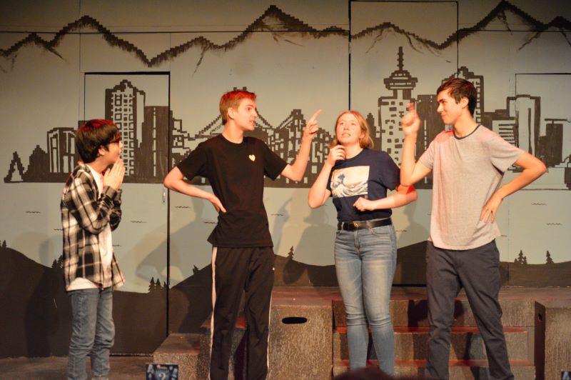 Ванкувер ТеатрСпорт Весенние каникулы Импров Интенсив для подростков